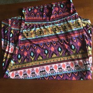 LuLaRoe Maxi Skirt 2XL